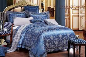 Bed Sheet Sets King by Isleep Jacquard Silky Feel Comforter Quilt Bed Sheet Set King
