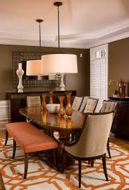 Oval Kitchen Table With Bench Behr U0027s Color Trends 2014 Living Spaces Eye4design Staged To
