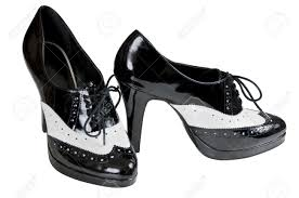 womens black dress boots sale womens dress shoes with a white band to resemble 30 style spats