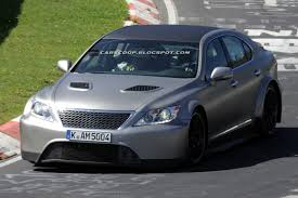 lexus ls launch scoop mystery sport lexus ls caught testing on the u0027ring could