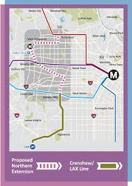 Red Line Chicago Map by Light Rail Extension To West Hollywood Might Happen Much Sooner