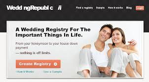free online wedding registry wedding republic a free online wedding registry