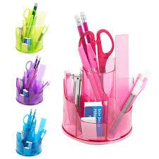 13pc office stationery organiser set rotating desk tidy pen holder
