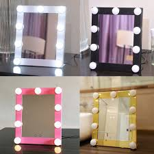 hollywood makeup mirror with lights led bulb vanity lighted hollywood makeup mirror with dimmer stage