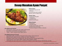 cara membuat nasi goreng ayam dalam bahasa inggris el rasyad world resep masakan ayam penyet