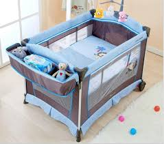 Folding C Bed Portable Folding Baby Bed Option C