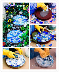 25 beautiful garden stepping stones ideas on garden