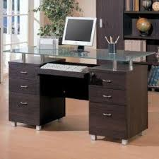 Computer Desk With Filing Cabinet by Computer Desk With Locking Drawers Foter