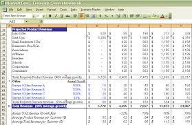 Financial Modeling Excel Templates Financial Plan Model Excel Model