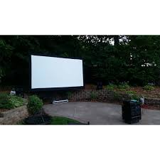 fresh backyard projector screen architecture nice