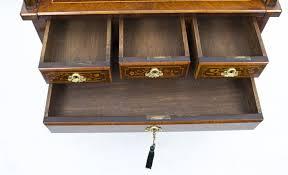 bureau louis xv sold antique louis xv revival marquetry bureau c 1870