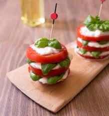 cuisine tomate millefeuille caprese tomate mozzarella basilic les meilleures