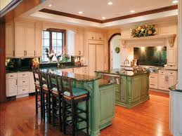 kitchen with island and breakfast bar decoration kitchen island with breakfast bar green decorating ideas