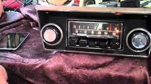1968 1972 ford f100 original am fm radio youtube