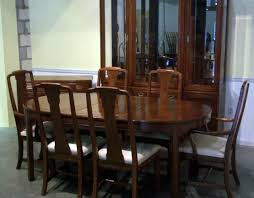 mahogany dining room set dining room ethan allen country french dining table and chairs