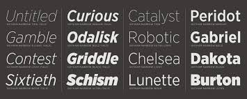 fonts for finance which typefaces are best