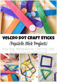 Where Can I Buy Lollipop Sticks Velcro Dot Craft Sticks Popsicle Stick Projects