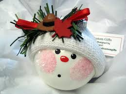 114 best snowball ornaments images on snowball