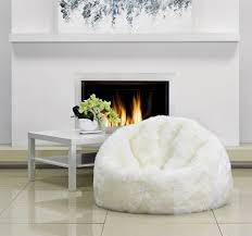 parker wool sheepskin bean bags the awesomer