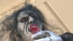 spirit halloween moore ok hauntly halloween decor how gruesome is too gruesome whnt com