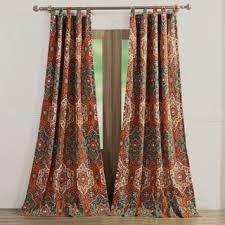 Turquoise Paisley Curtains Multi Curtains U0026 Drapes Shop The Best Deals For Dec 2017