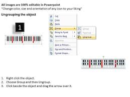 piano keys music powerpoint templates piano music ppt powerpoint