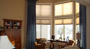 lustrouscolors window with blinds and curtains tags bay window