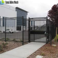 china sale new products ornamental iron fence panels with post