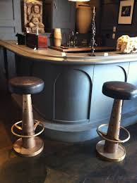 kitchen design marvelous black leather tufted saddle bar stools