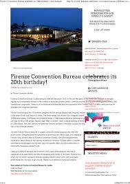 si e bureau florence convention and visitors bureau press room press