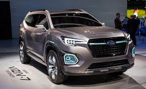 subaru truck 2018 subaru viziv 7 concept u2013 news u2013 car and driver