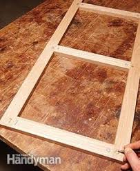 Cabinet Door Plans Woodworking Good Tutorial On Building Cabinet Drawer Fronts And Doors Using