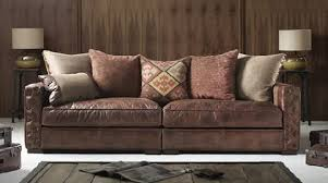 Classic And Aesthetic Waterford Leather Sofa Design For Home - Classic sofa design