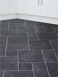 slate effect cushioned vinyl flooring very co