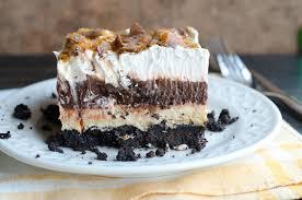 chocolate pudding oreo peanut butter butterfinger dream dessert