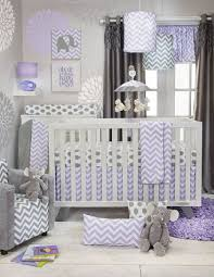 Lavender And Grey Crib Bedding Fabulous Is What This Baby Posh Lavender And Grey Chevron
