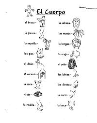 Spanish 1 Worksheets Austin Steve Class Resources U0026 Vocab Sheets