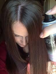 Hair Color Spray For Roots Quick Fix For Grown Out Roots That Need Some Color