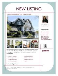 real estate listing template free templates for snazzy real estate brochures