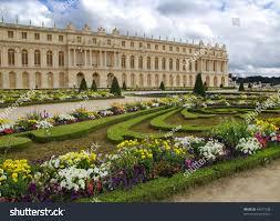Famous Gardens Famous Palace Versailles Near Paris France Stock Photo 64017538