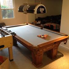 Best 3 Piece Slate Top Kasson Pool Table Table Is Disassembled