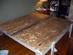 How To Make Wood Platform Bed Frame by Best 25 King Size Platform Bed Ideas On Pinterest Queen
