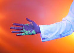 black light and germs 5 ask s for bioethics blacklightyourwhitecoat cancergeek