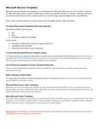 Executive Resume Template Word Resume Template Award Winning Executive Examples Regarding 81