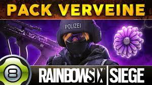 siege pour le pack verveine pour iq rainbow six siege fr