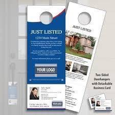 flyer property real estate door hangers u2013 leads from front door marketing