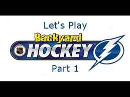 Backyard Hockey Download Let U0027s Play Backyard Hockey Part 1 Youtube