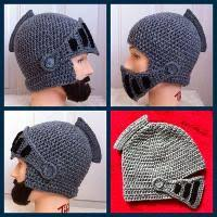 crochet pattern knight helmet free knitted knight helmet pattern free image collections knitting