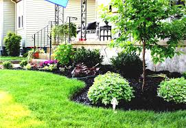 exellent flower garden ideas for front of house i throughout design