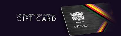 hotel gift card gift cards seminole casino hotel immokalee
